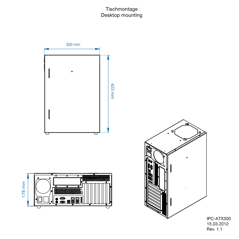 IPC-ATX-300 drawing