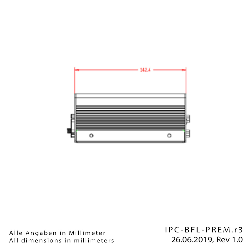 [Translate to Englisch:] Box-PC IPC-BFL-PREM-Drawing3