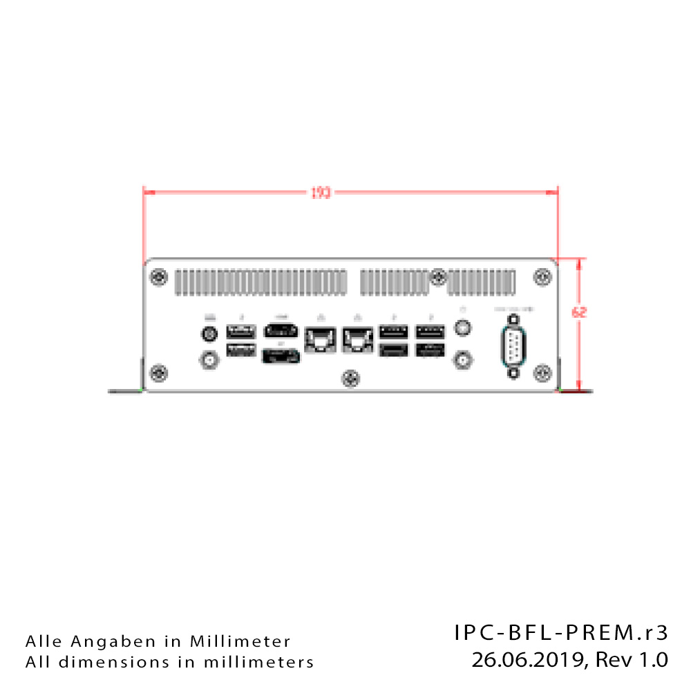 [Translate to Englisch:] Box-PC IPC-BFL-PREM-Drawing2